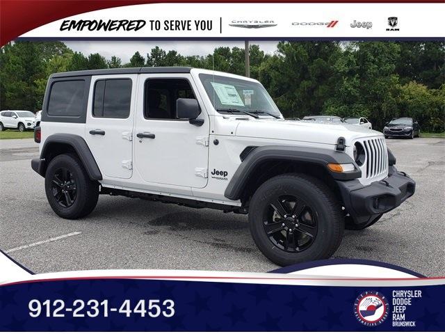 Jeep Wrangler Unlimited Sport >> New 2019 Jeep Wrangler Unlimited Sport Altitude 4x4