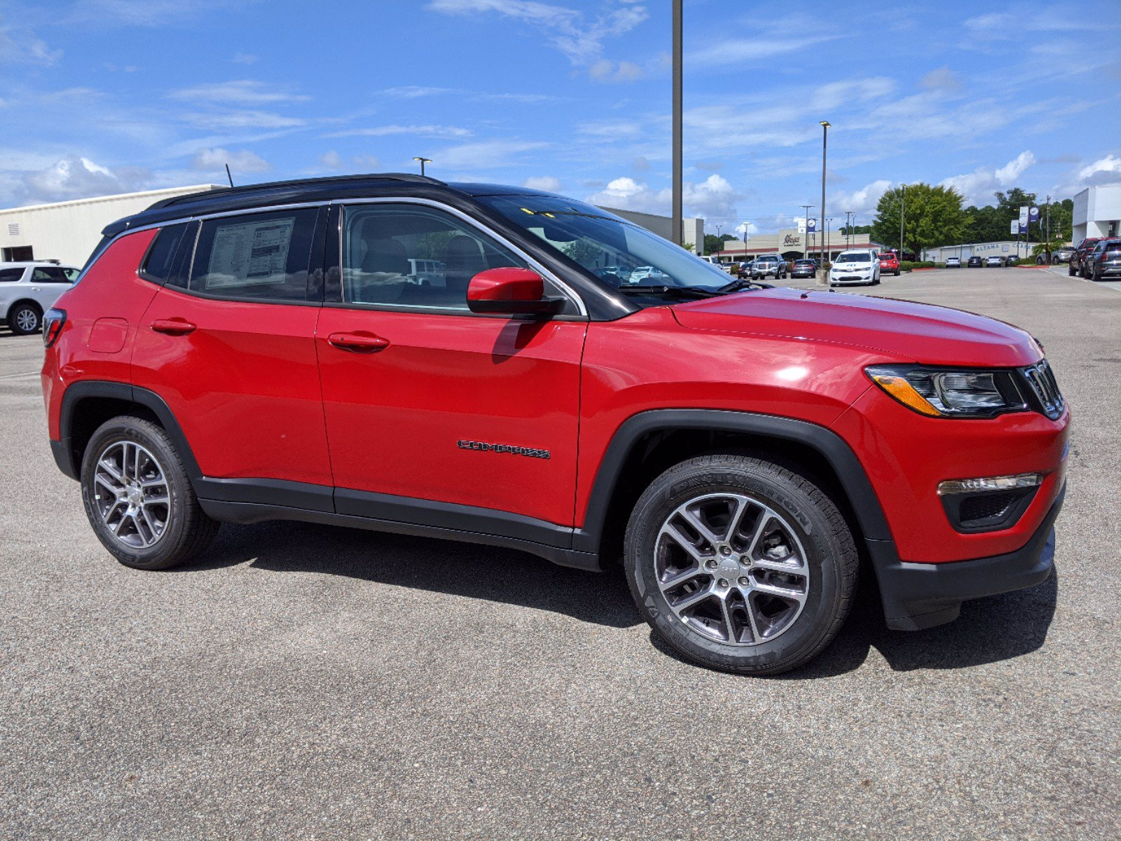 New 2020 JEEP Compass Latitude w/Sun/Safety Pkg