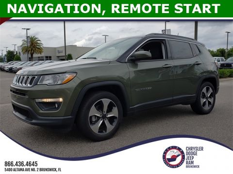 New 2018 JEEP Compass Trailhawk Sport Utility in Brunswick